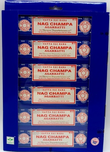 Présentoir Satya Nag Champa 6pcs 15g