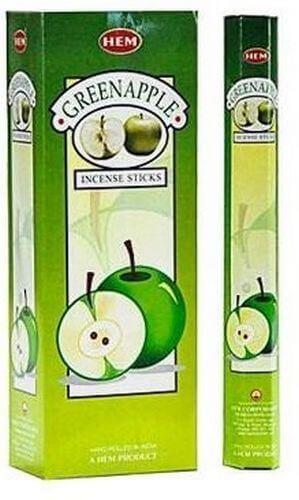 Encens HEM Pomme Verte 20g