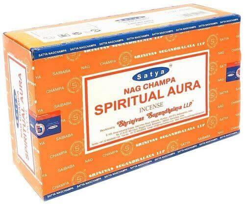 Encens Satya Aura Spirituelle 15g