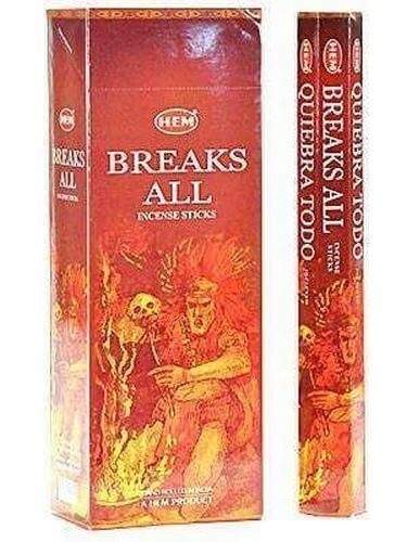 Incenso HEM Breaks All 20g