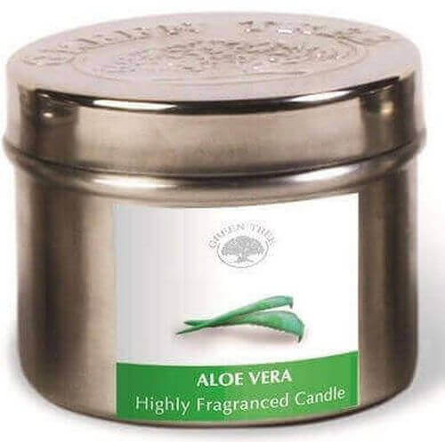 Bougie Green Tree Aloe Vera 150g