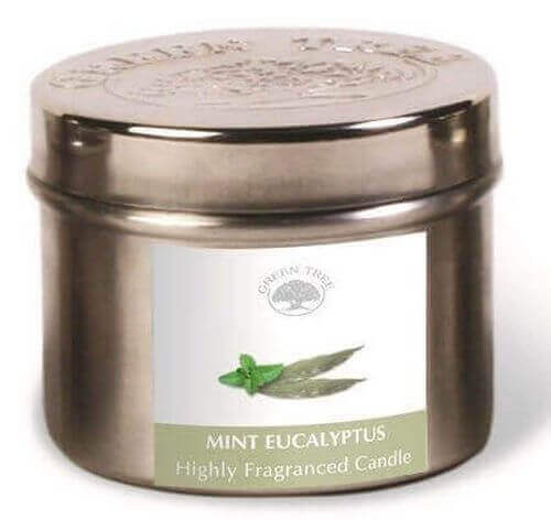 Green Tree Mint Eucalyptus Candle 150g