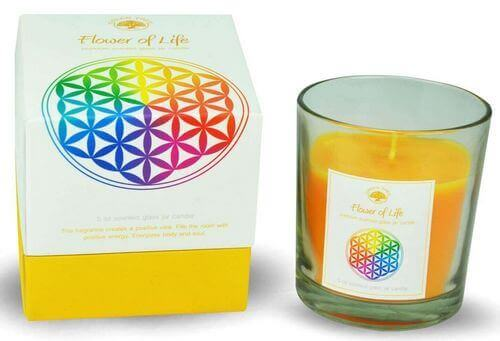 Candela Green Tree Flower of Life 125g