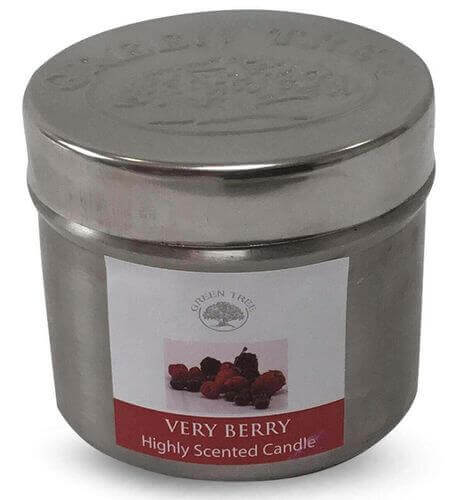 Bougie Green Tree Very Berry 150g