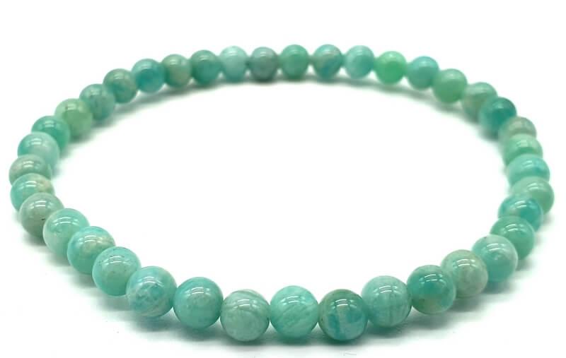 Bracelet Amazonite Extra perles 4mm