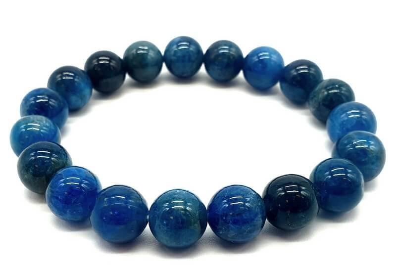 Bracelet Apatite extra perles 10mm