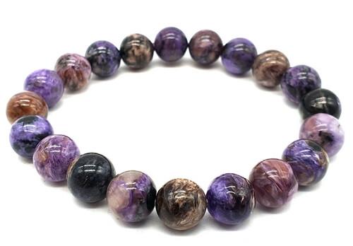 Bracelet Charoïte perles 8mm