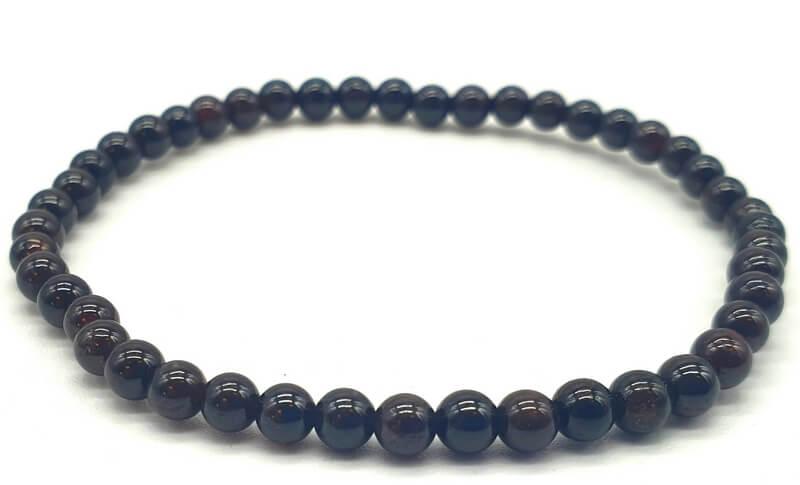 Bracelet Grenat perles 4mm