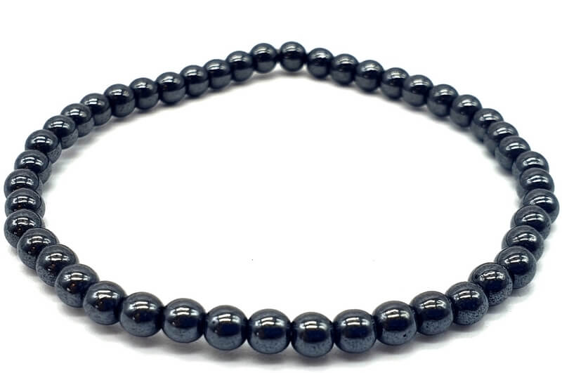 Bracelet Hematite perles 4mm
