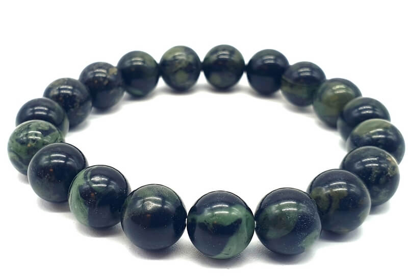 Bracelet Jaspe Kambaba perles 10mm