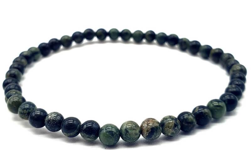 Bracelet Jaspe Kambaba perles 4mm
