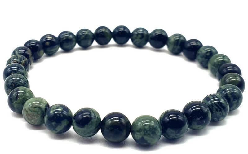 Bracelet Jaspe Kambaba perles 6mm