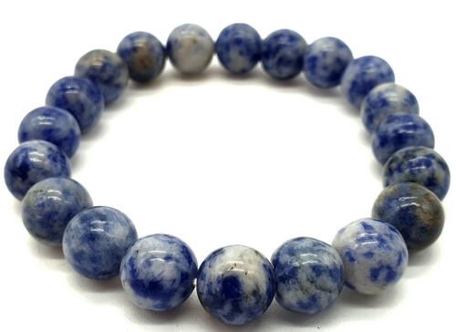 Bracelet Sodalite perles 10mm