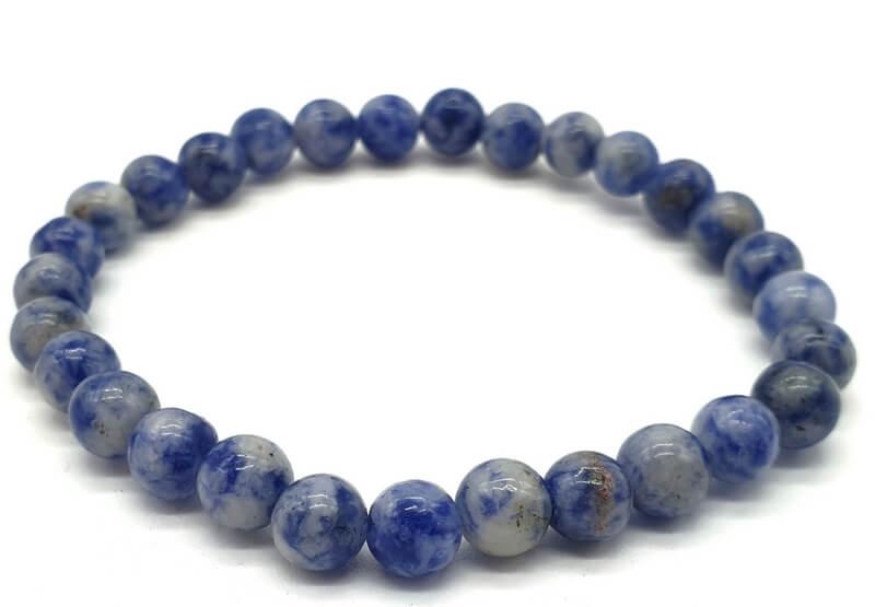 Bracelet Sodalite perles 6mm