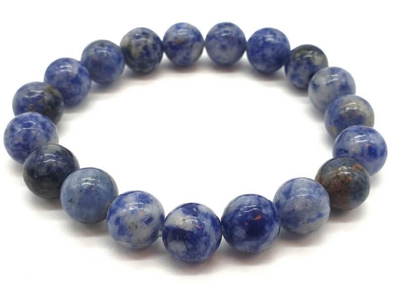 Bracelet Sodalite perles 8mm