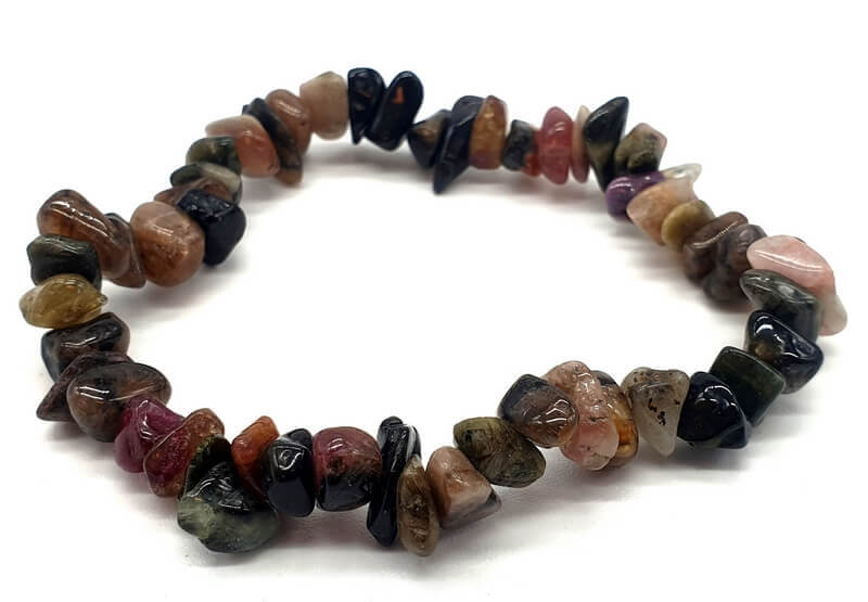 Bracelet Baroque Tourmaline Multicolore