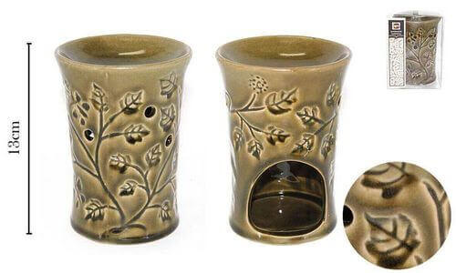 Olio per fiori in ceramica bruciatore 13cm