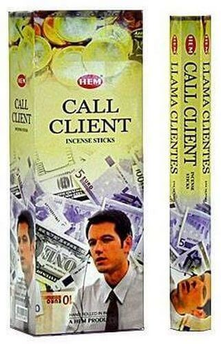 Incenso HEM Call Client 20g