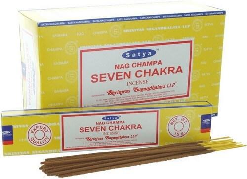 Encens Satya Sept Chakras 15g