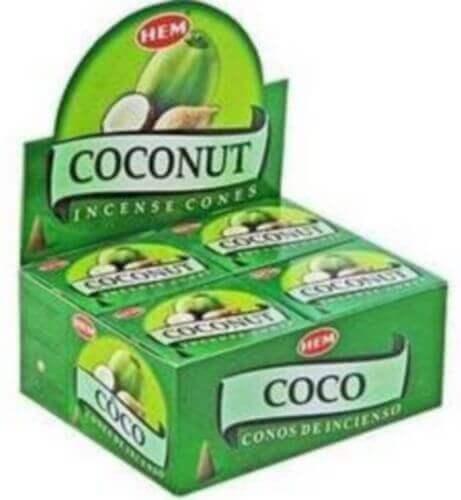 Encens HEM Cônes Noix de Coco