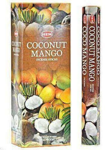 Encens HEM Mangue Coco 20g