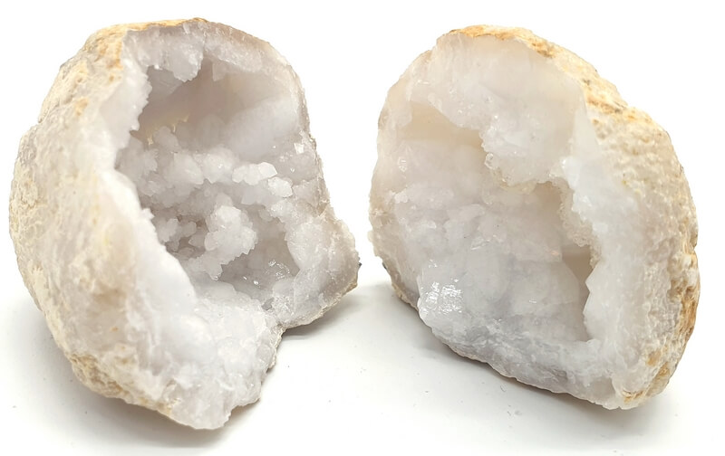 Apri geode di cristallo di roccia
