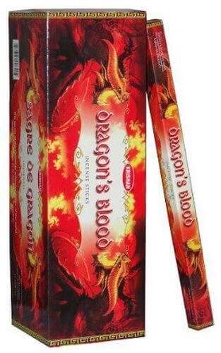 Incenso di sangue del drago di Krishan 10g