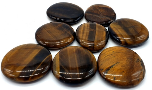 "Tiger Eye Ciottoli arrotolati ""AAA"" 200g"