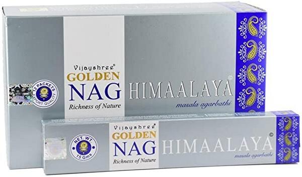 Encens Golden Nag Himalaya 15g