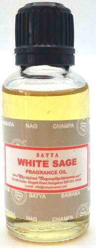 Aceite de salvia blanca satya 30 ml