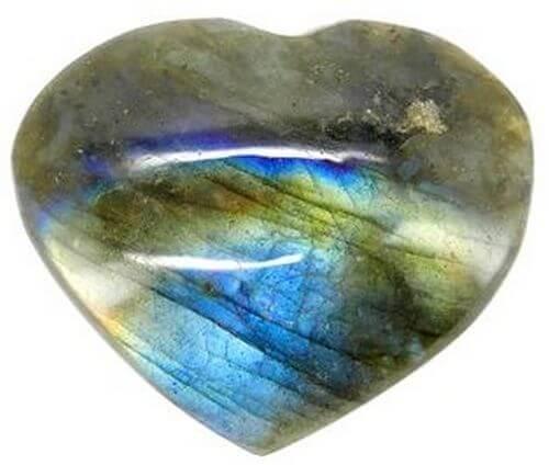 Labradorite Heart Extra 4cm