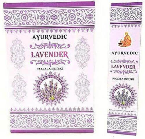Encens Ayurvedic Lavande 15g