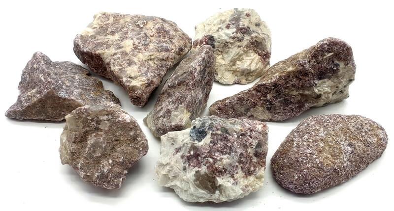 Lépidolite Mica Brute Extra 250g