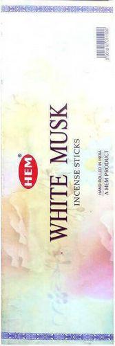 Encens HEM Musc Blanc 20g