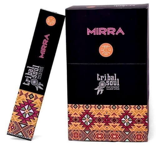 Incienso tribal del alma Mirra 15g