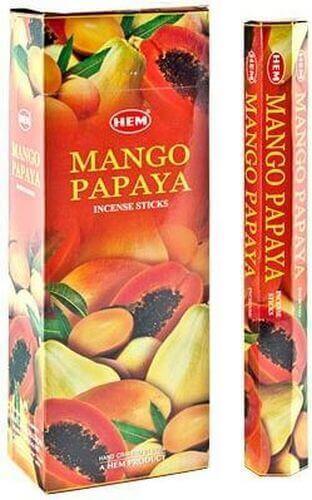 Encens HEM Mangue Papaye 20g
