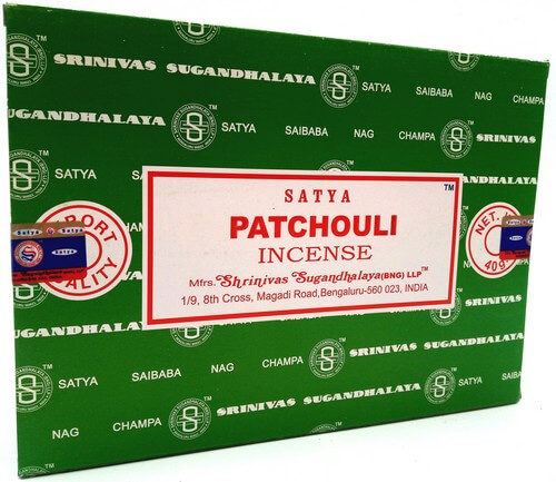 Incenso Satya Patchouli 40g