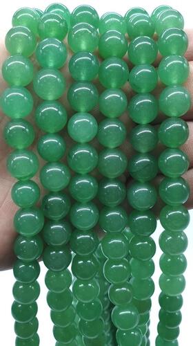 Perles Aventurine Verte 10mm sur fil 40cm