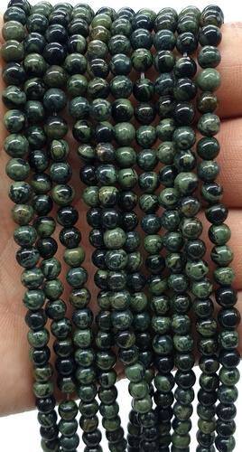 Perles Jaspe Kambaba 6mm sur fil 40cm