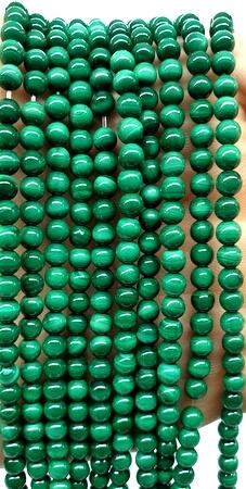 Perle di malachite