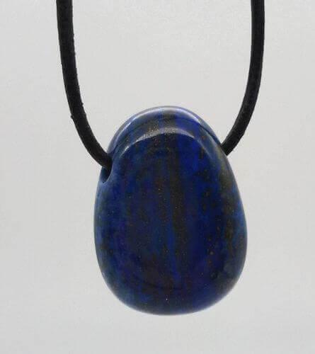 Lapis Lazuli roulée Percée 3cm