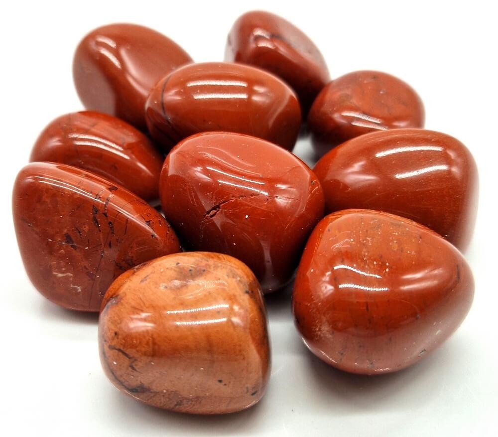 Rotoli di diaspro rosso 200 g