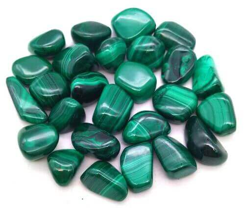Malachite small roulées 250g