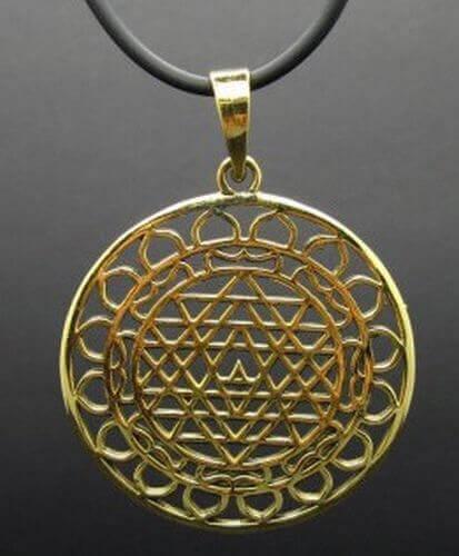 Pendentif Bronze Mandala 4cm