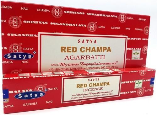 Encens Satya Red Champa 15g