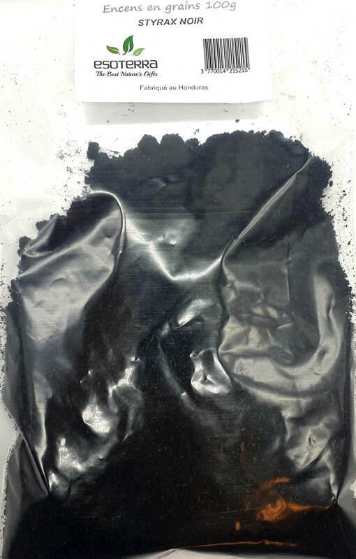 Résine ESOTERRA Styrax Noir 100g