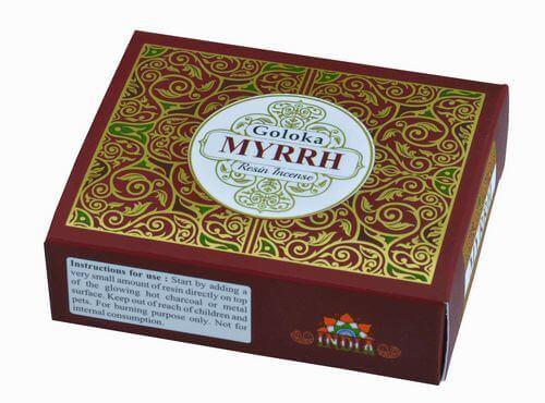 Résine Goloka Myrrhe 30g