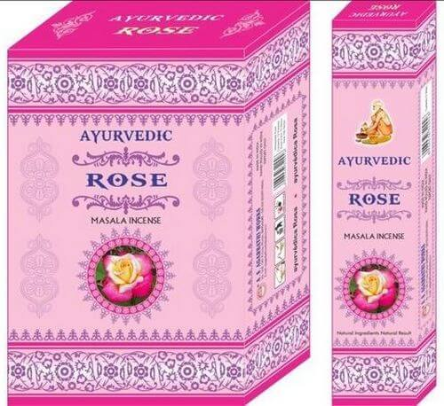 Encens Ayurvedic Rose 15g