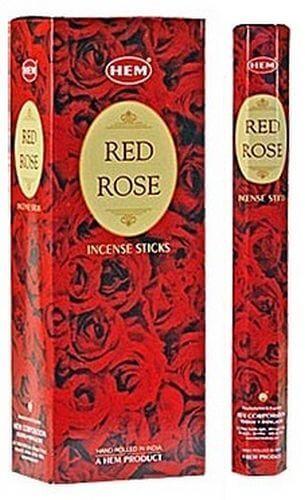 Encens HEM Rose Rouge 20g