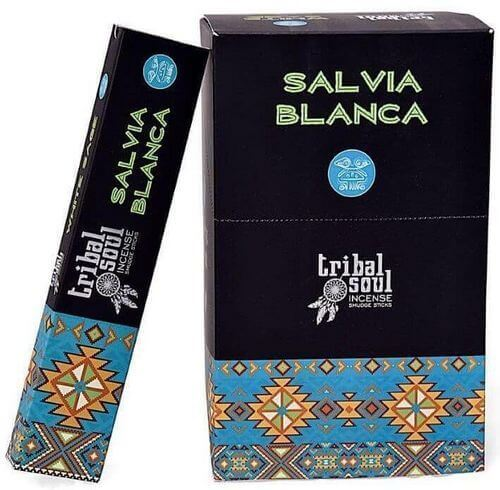 Incienso Sabio Tribal Alma Blanca 15g
